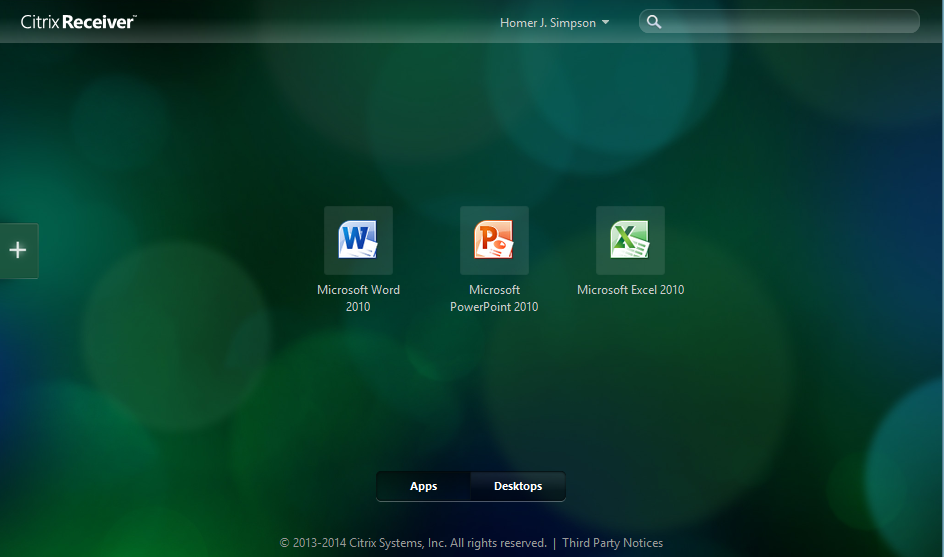 Citrix StoreFront with Favorited Apps