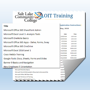 OIT Training Splash