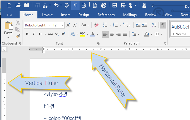 how to delete tabs in ruler in microsoft word