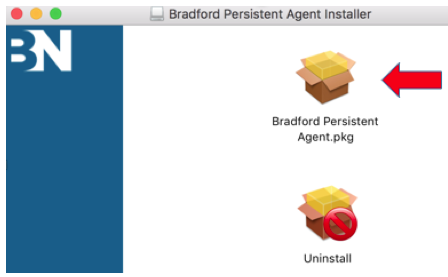 Image shows Bradford installer
