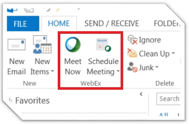 Productivity tools webex meeting